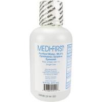 Eye wash, 16 oz. bottle w/twist-off tabs - 12 per case $8.50 each