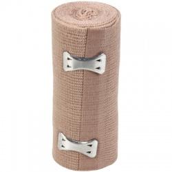 """4""""x5 yd Elastic bandage w/ 2 Fasteners, 1 each"""