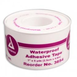 "1""x5 yd. Waterproof tape, plastic spool"