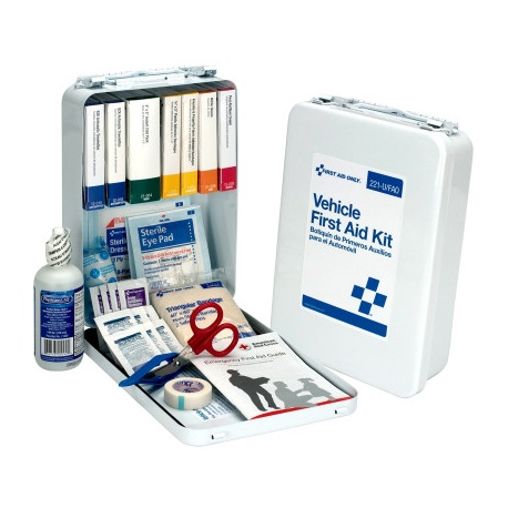 94 pc Vehicle First Aid Kit