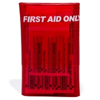 Red Mini First Aid Kit - 18 Piece
