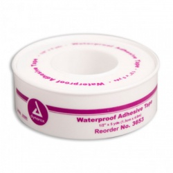 "1/2""x5 yd. Waterproof tape, plastic spool"