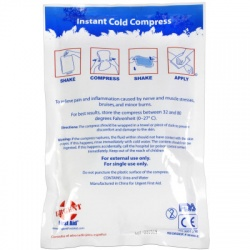 Instant Cold Compress, 6 inch x 9 inch - 1 Each
