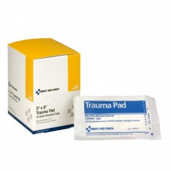"5""x9"" Trauma pad - 10 per box"