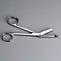 DELUXE STAINLESS STEEL SCISSORS - 5-3/4 INCH - 1 EACH 12 per bag $1.60 each.