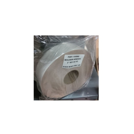 MOLESKIN, PREMIUM GRADE, 2 INCH X 25 YARD ROLL - 1 ROLL / PACK