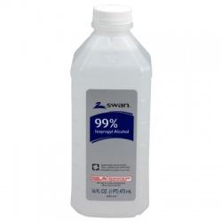 99% Isopropyl alcohol, 16 oz. bottle - 12 per case $2.90 each