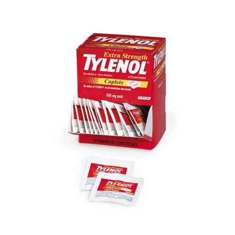 Extra-Strength Tylenol - 100 Per Box