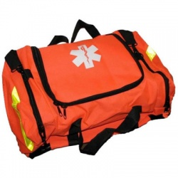 Empty First Responder Bag w/ Rigid Foam Insert - Orange
