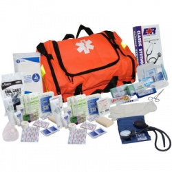 FIRST RESPONDER KIT - 151 PIECES - ORANGE