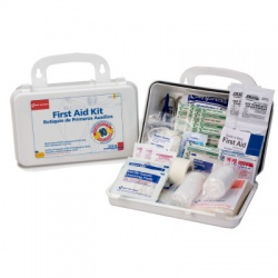 10 Person Bulk First Aid Kit w/ Dividers