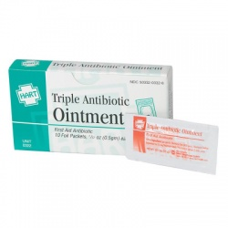 Triple Antibiotic Ointment, 10 per box,  5gm Triple Antibiotic Ointment, 10  per box,  5gm