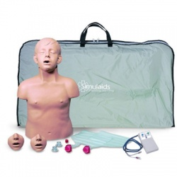 Brad Jr. CPR Training Manikin w/ Electronics and Bag