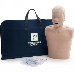 Prestan Child / Pediatric CPR Manikin w/ Monitor - Medium Skin