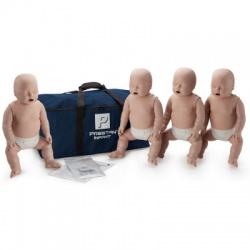 Prestan Infant / Baby CPR Manikin w/o Monitor - 4 Pack - Light Skin
