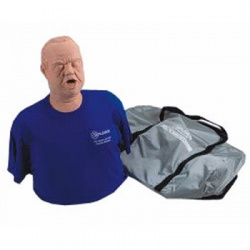 Obese Choking Manikin with Carry Bag