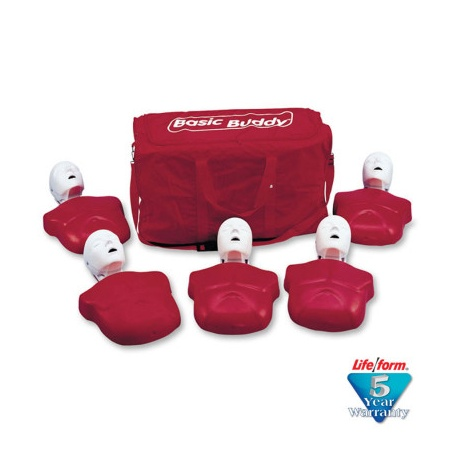 The Basic Buddy™ CPR Mannequin - 5 Pack