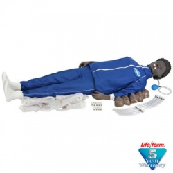 The CPARLENE® Full Mannequin w/ Electronic Connections - Black