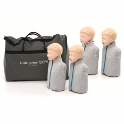 LITTLE JUNIOR QCPR - CHILD / PEDIATRIC CPR MANIKIN - 4 PACK