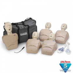 1000 Series 5-Pack Adult/Child Training Manikin - Tan
