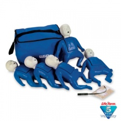 1000 Series 5-Pack Infant Training Manikin - Blue