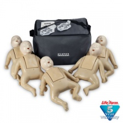 1000 Series 5-Pack Infant Training Manikin - Tan