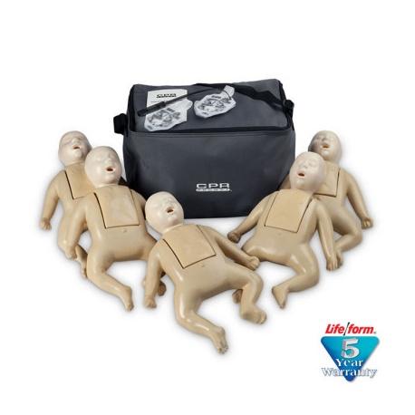 1000 Series 5-Pack Infant Training Manikin - Tan