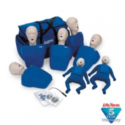 1000 Series 7-Pack Manikins - Blue