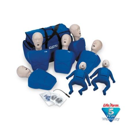 1000 Series 7-Pack Manikins - Blue