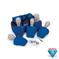 CPR Prompt 5-Pack Adult/Child / Pediatric Training Manikin - Blue