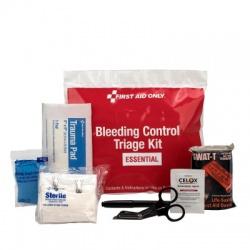 BLEEDING CONTROL TRIAGE KIT - ESSENTIAL, PLASTIC BAG
