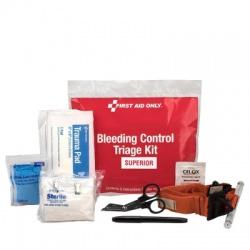 BLEEDING CONTROL TRIAGE KIT - SUPERIOR, PLASTIC BAG