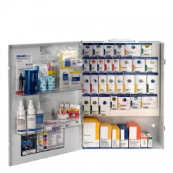 XL METAL SMART COMPLIANCE GENERAL BUSINESS FIRST AID CABINET WITHOUT MEDS