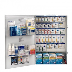 XXL METAL SMART COMPLIANCE FOOD SERVICE FIRST AID WITH MEDS