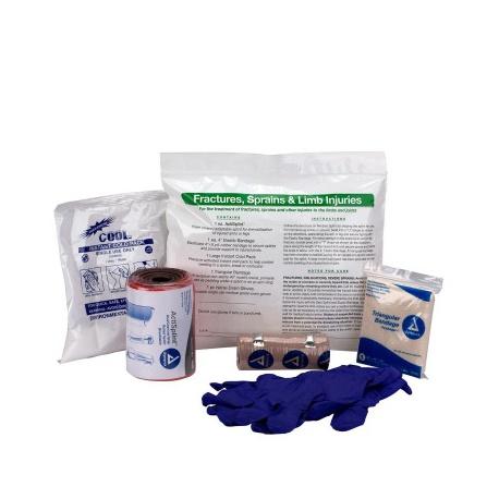 FIRST AID TRIAGE PACK - SPLINT/LIMB INJURY TREATMENT