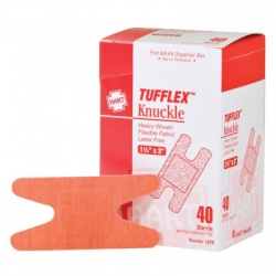 "1-1/2""x3"" Heavy Woven Knuckle Bandage, 40 Per Box"