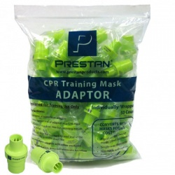 PRESTAN RESCUE MASK TRAINING ADAPTER, 50 PER PACK