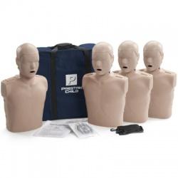PRESTAN CHILD / PEDIATRIC CPR MANIKIN W/O MONITOR - 4 PACK