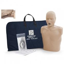 Prestan Adult Jaw Thrust CPR Manikin w/o Monitor - Medium and Dark Skin