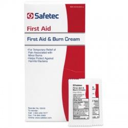 First Aid & Burn Cream .9gm. Pouch, 144 per box