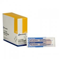 "'1""x3"" Fabric bandage - 100 bandages per dispenser box"
