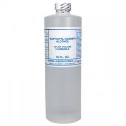 70% Isopropyl alcohol, 16 oz. bottle - 12 per case $4.18 Each
