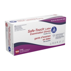 Powder Free Latex Exam Gloves - Extra Large 100/Box