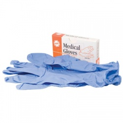 VINYL EXAM GLOVES, 2 PAIRS PER BOX