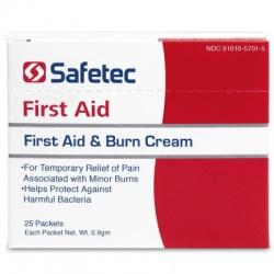 First Aid & Burn Cream .9gm. Pouch, 25 per box