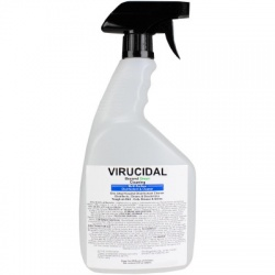 EPA Registered Virucidal Disinfectant, 32oz, Spray