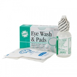Eye Wash 1/2oz with 2 Sterile Eye Pads