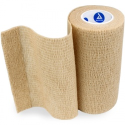 "SENSI WRAP, SELF-ADHERENT - LATEX FREE, 4"" X 5 YDS TAN, 1 EACH"