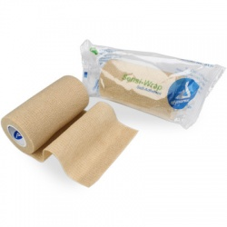 "SENSI WRAP, SELF-ADHERENT - 4"" X 5 YDS, TAN, 1 EACH"