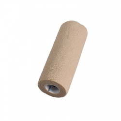 "SENSI WRAP, SELF-ADHERENT - LATEX FREE, 6"" X 5 YDS TAN, 1 EACH"